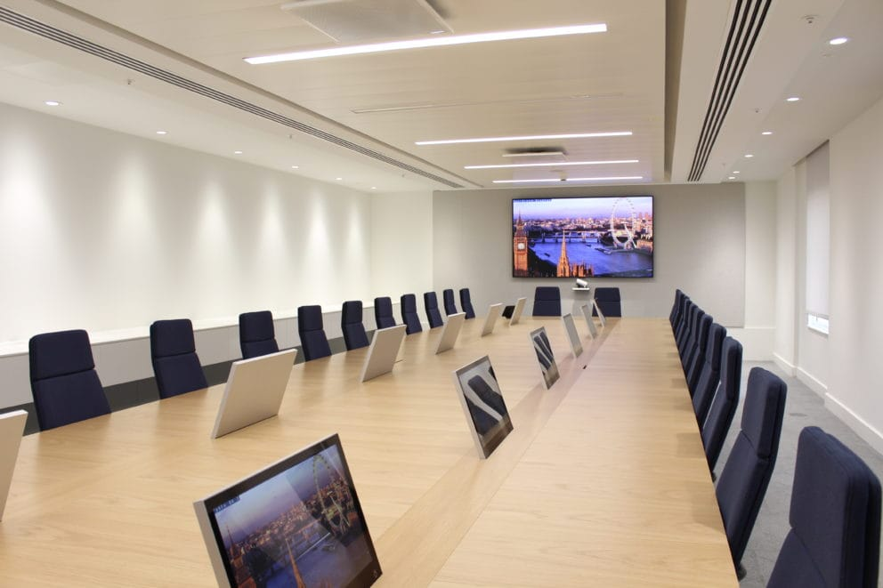 Design Integration Boardroom Av System