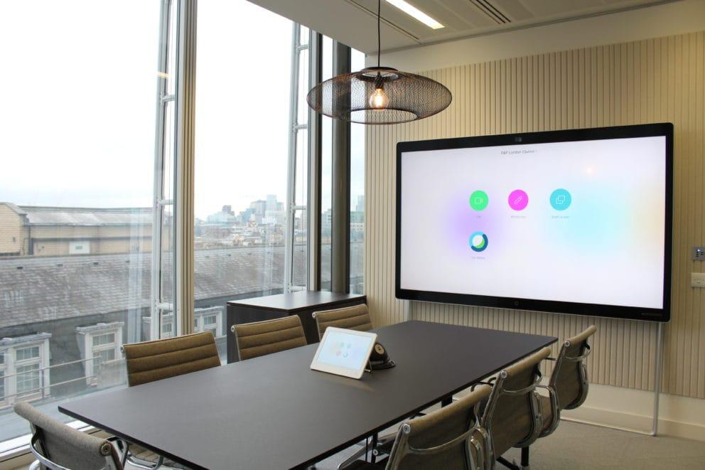 Design Integration Cisco Webex Board