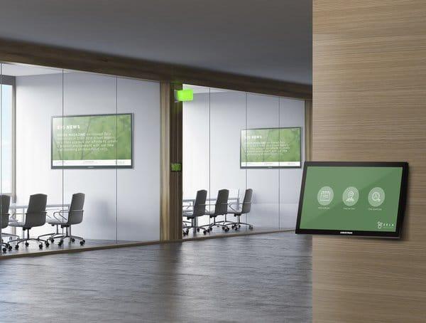 Design Integration Crestron Room Booking Banner