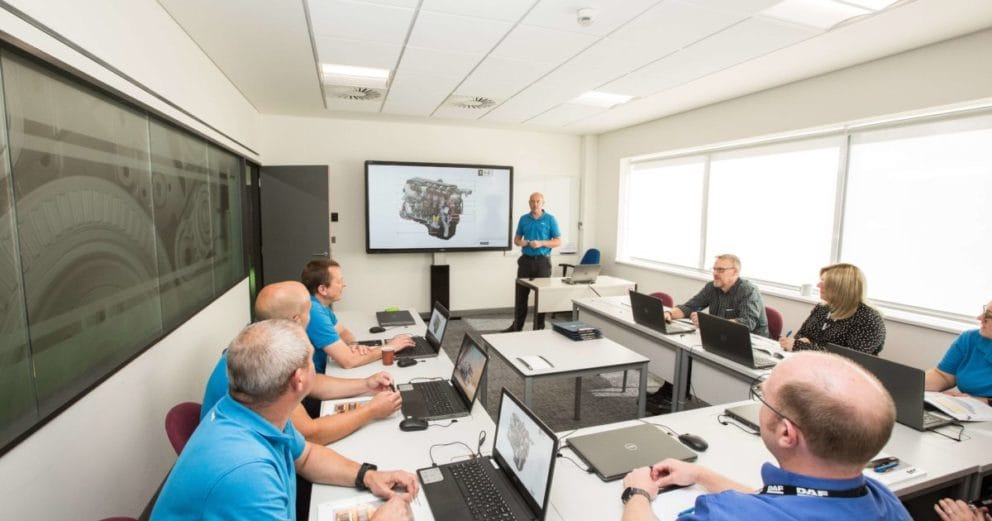 Design Integration Daf Trucks Training Room