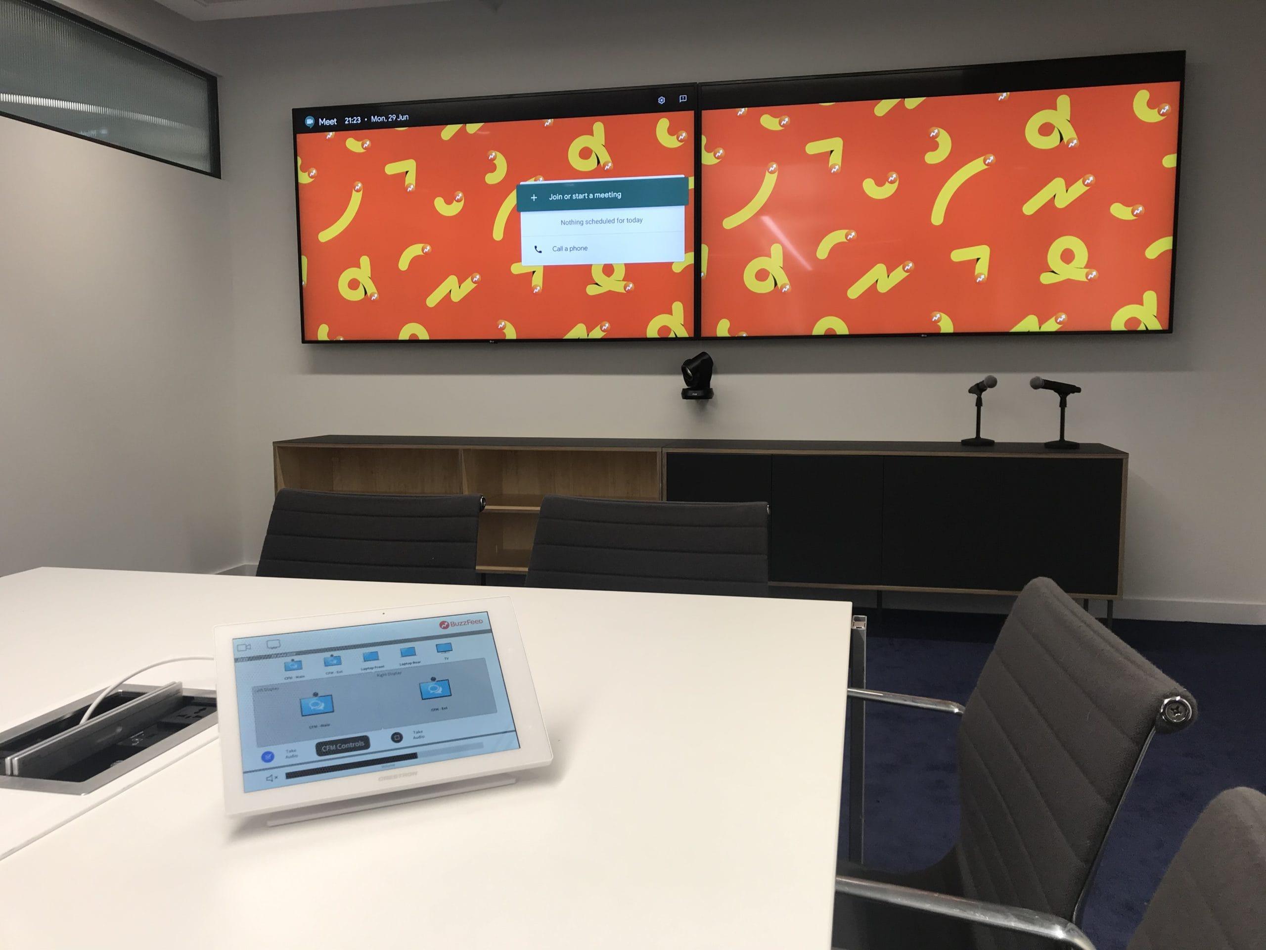 Design Integration Google Meet Banner